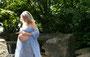 Fantasie & Wirklichkeit Fotografien und Gedichte Kathrin Steiger märchenhaft verträumt romantisch schön Wasserfall Babybauch Schwangerschaft schwanger