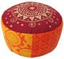 "Designer Meditationskissen ""Shivamogga Ur-Mandala"" Gr.M Ansicht 2"