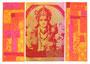 Lord Vishnu orange