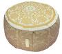 """Designer Meditationskissen Gr.M - White Cocoa """"Lotus Kreis"""""""