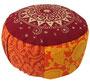 "Designer Meditationskissen ""Shivamogga Ur-Mandala"" Gr.M Ansicht 1"