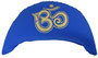 "Designer Meditationskissen Yogakissen Halbmond Basic ""Om"" royal"