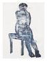 高森幸雄 2011(スケッチブックから) acrylic and Japanese ink on paper クロッキー紙に墨汁、アクリル