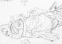 """""""あたたかいよ""""(スケッチブックから) 高森幸雄 2011 pencil on paper  画用紙に鉛筆"""