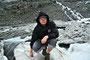 Auf das Eis vom Kjenndalsbreen