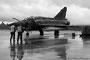 Mirage 2000D sur le tarmac