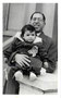 Rochelle and father Louis Sugarman 21 Oct 1951
