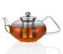 Küchenprofi Teekanne >Tibet<, Glas/Edelstahl
