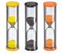Küchenprofi Sanduhr >Ei-Zeit< 3er Set, Glas/Kunststoff