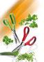 Küchenprofi Küchenschere in 3 Farben, Spezial Klingenstahl