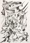 Jazz, ca A4, Bleistift auf Papier