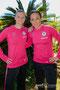 Alexandra Popp und Nadine Kessler beim Algarve Cup 2014