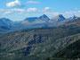 Blick nach Osten vom Logan Pass (Glacier Nationalpark)