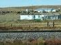 Zusammengeflickt - Farm am Highway 2 in Montana