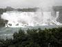 Donnerndes Wasser - US-amerikanische Seite der Niagara Falls
