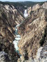 Tief eingeschnitten - Yellowstone River mit Lower Falls