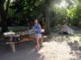 Geruhsam - Camping auf schattigen Plätzen