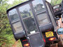 Jeep auf schiefen Wegen