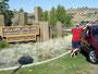 Endlich da - Hells Gate State Park