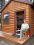 Gemütlich - Camping Cabin auf der Flagg Ranch