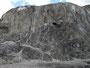 Gespenstisch - Kalkberg in Mammoth-Spring