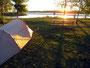 Oase - Sonnenaufgang am Missouri im Abrham Lincoln State Park (Mandan)