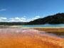 Midway Basin - Bakteriell bedingte Fabspiele am Grand Prismatic Basin