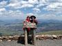 Höchste Erhebung - Mount Washburn im Yellowstone Nationalpark