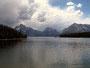 Steil aufsteigend - Teton Kette am Jacksan Lake