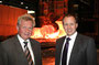 Dr. Manfred Diederichs und sein Sohn Dr. Roman Diederichs von der Firma Karl Diederichs KG Stahl-, Walz- und Hammerwerk