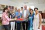Alrun Kuhlmann u. Lars Schöller feiern mit der Familie, Freunde und Bekannte die Neueröffnung der Logopädische Praxis in Radevormwald