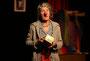 Theaterabend der Hospizgruppe RS - Wenn die Clownin Trauer trägt mit Sofia Altklug alias Dr. Kristin Kunze