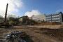 Aktuelle Ansicht der Realschule in der Rot-Kreuz-Straße (WK) nach Abriss der Sporthalle