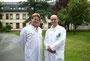 Neuer Chefarzt für das Sana-Klinikum in Radevormwald. Von links: Dr. Martin Ulatowski (Chefarzt Chirurgie) und Dr. Thomas Hauswald (Oberarzt Chirurgie)