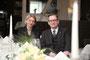 Geschäftsführerin Tanja Wolter und Restaurantleiter Armin Weisenberger vom Landhotel Spatzenhof in Wermelskirchen