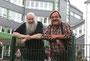 BM-Serie Ruhestand: Heinz-Willi Mergler (links) hat in der Hauptschule Wermelskirchen das Musik-Projekt CCP betreut, Wolfgang Pieplak (rechts) war Schulsozialarbeiter