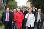 Die Remscheider SPD lädt zu einer Bürgerwanderung mit Hannelore Kraft ein. Vom Willy-Brandt-Platz ging es über die Trasse des Werkzeugs zum Remscheider Honsberg