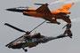 F-16 & Apache at Luchtmachtdagen Volkel 2013 - (c) Jürgen Moll
