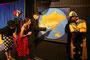 Probe zur Aufführung ´In 80 Tagen um die Welt´, ein Abenteuerstück nach Jules Verne