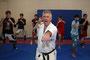 Kampfsporttraining mit Karate-Trainer Charalampos Tsirakidis
