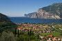 Blick auf Riva am Lago di Garda