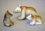 Медведица с медвежатами.Турыгинский завод художественной керамики.Автор Л.П.Азарова