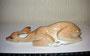 Ланенок  новорожденный 2000-е гг. П.П.Веселов, В.М.Жбанов. Роспись подглазурная  полихромная, высота 5,3 см. Марка: ЛФЗ синяя.