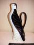 Графин «Сокол»  1958 г. Э.М Криммер Роспись подглазурная кобальтом, надглазурная полихромная, позолота. Высота 26, 6 см. Марка: ЛФЗ-  синяя