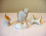 Кошка с котятами.Турыгинский завод художественной керамики.Автор Л.П.Азарова