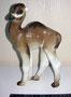 Верблюжонок 1968 г. Б.Я Воробьев. Роспись В.М.Жбанова. Роспись подглазурная монохромная, высота 15 см. Марка: ЛФЗ зеленая, 2 с.