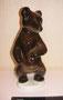 Медвежонок 1960-е гг. И.И.Ризнич Роспись подглазурная  полихромная, высота 20 см. Марка: б/м