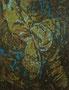 """Fragment 2"", 1993, Öl auf Leinwand, 130x100 cm"