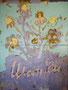 """""""Цветки ромашки"""", 1990, 200 х 150 см, холст, масло"""