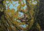 """Fragment 3"", 1993, Öl auf Leinwand, 100x80 cm"